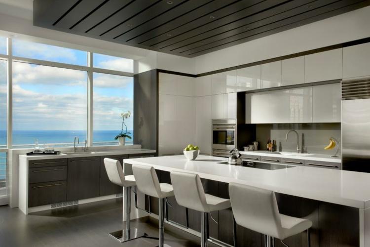 Decoración de cocinas modernas, ideas funcionales.