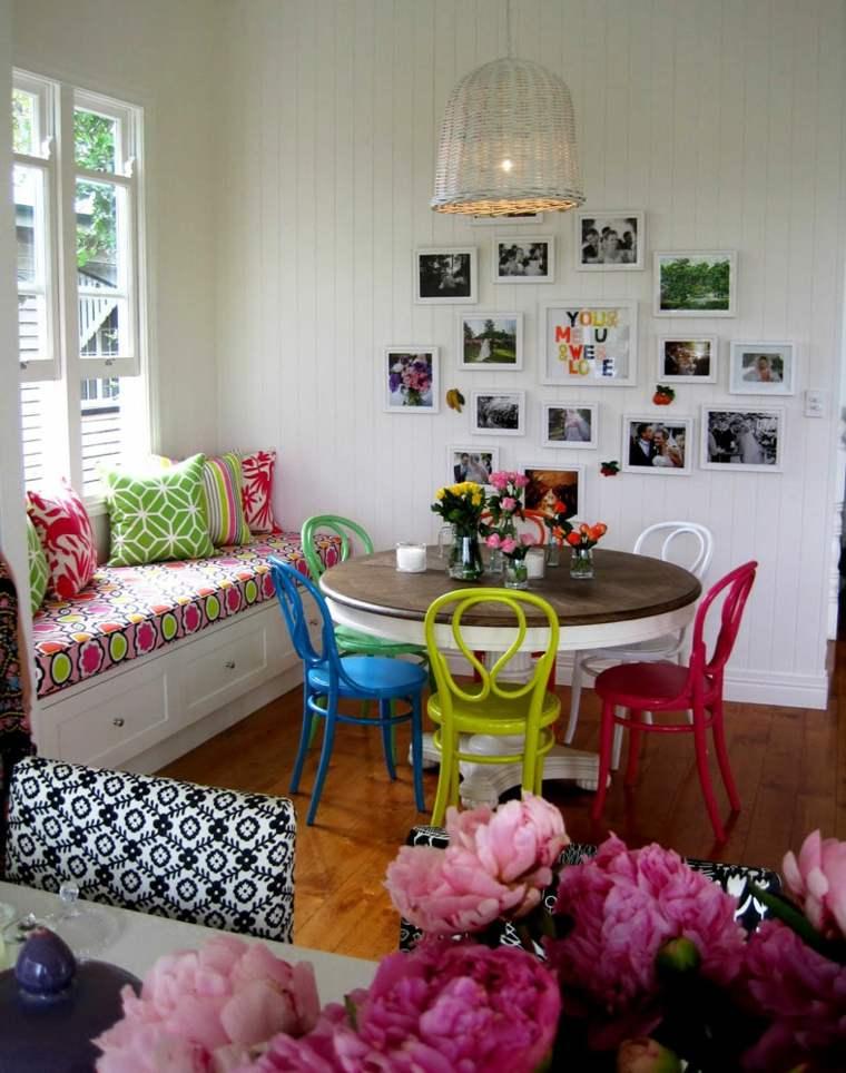 decoración interior estilo boho