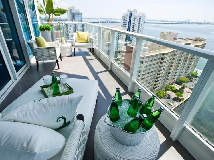 decoracion balcones disñeo moderno