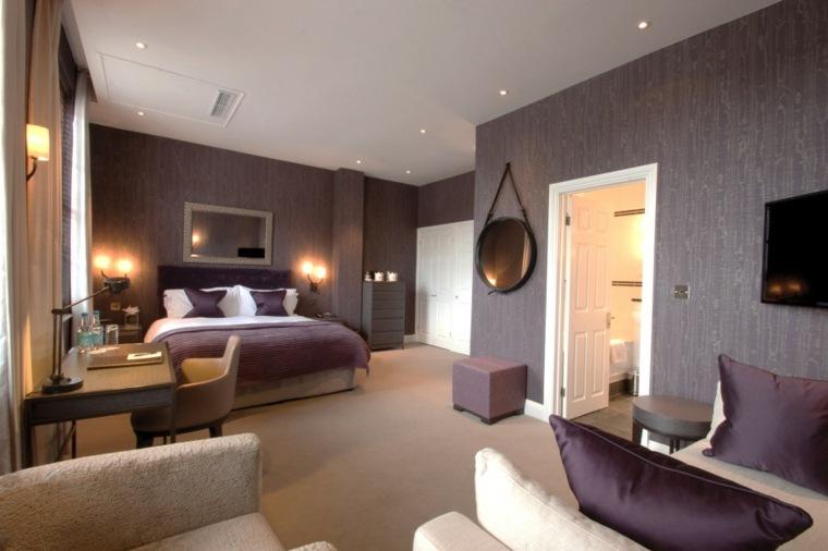 Decoracion ambientes 26 dormitorios elegantes for Espejos modernos para habitaciones