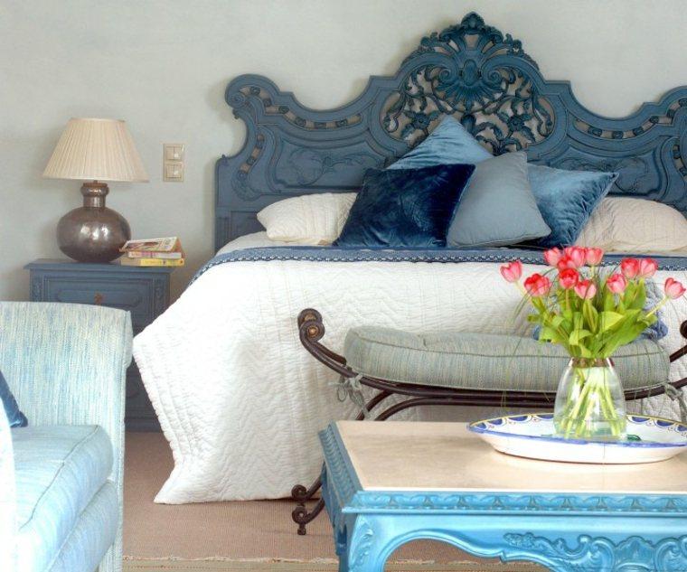 decoracion ambientes dormitorio cabecero original ideas