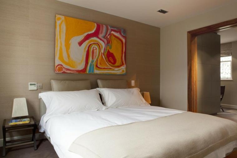 decoracion-ambiente-dormitorio-cuadro-moderno