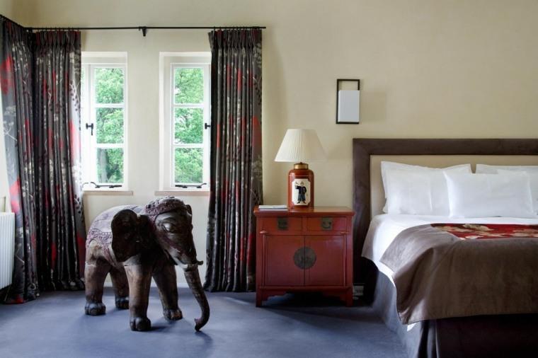 decoracion ambientes dormitorio elefante grande ideas