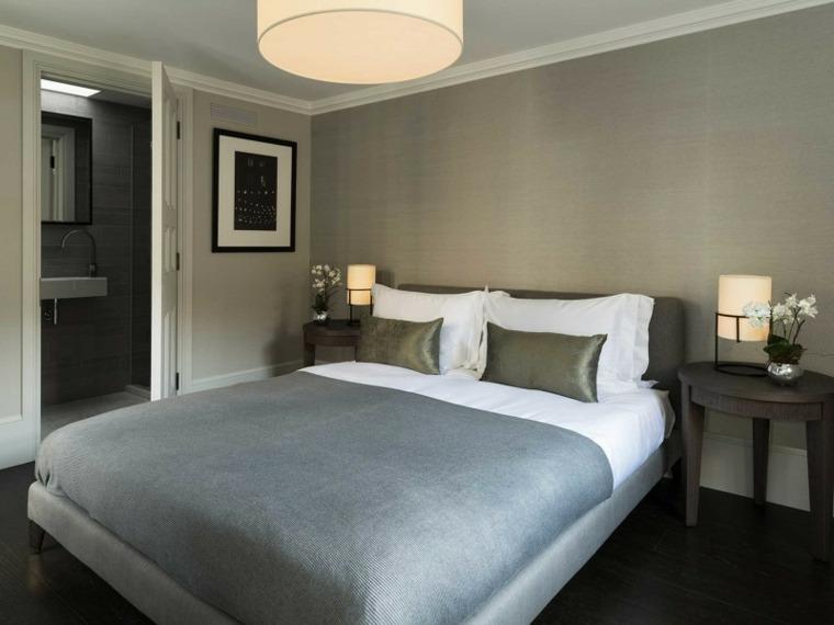 decoracion ambientes dormitorio gris elegante ideas