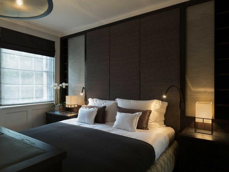 Decoracion ambientes 26 dormitorios elegantes for Decoracion pieza matrimonial