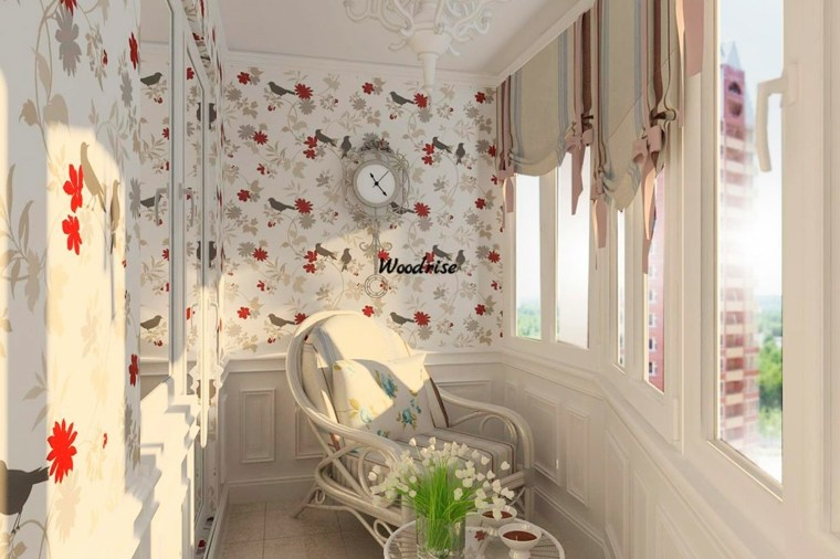 balcones originales cerados papel pared ideas