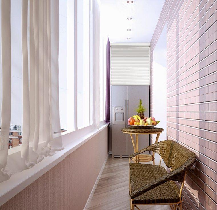 Decoracion balcones ideas originales de muebles for Decoracion balcones modernos