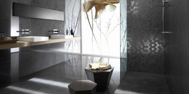 decoracion baños modernos opciones espacios oscuros ideas