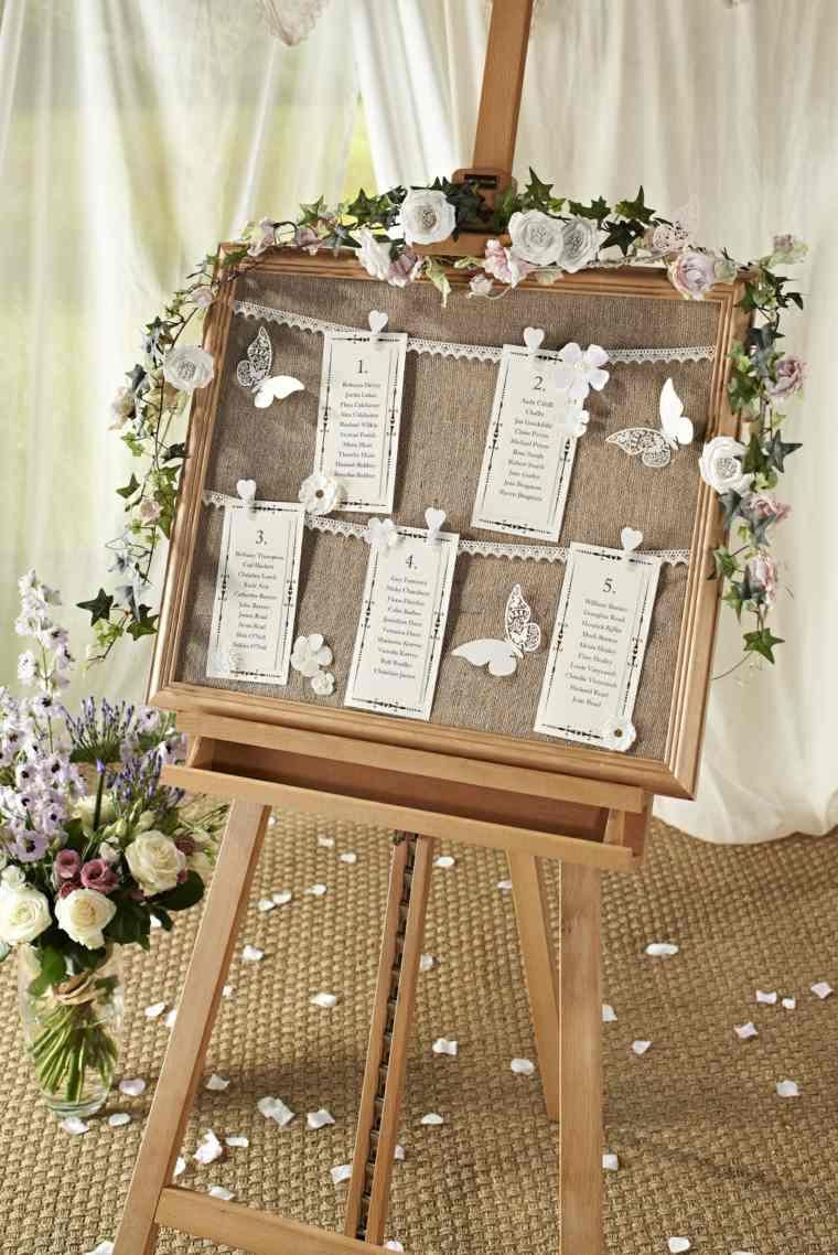 decoracion boda vintage entrada decorada ideas