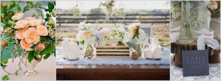 decoracion boda vintage opciones mesa ideas