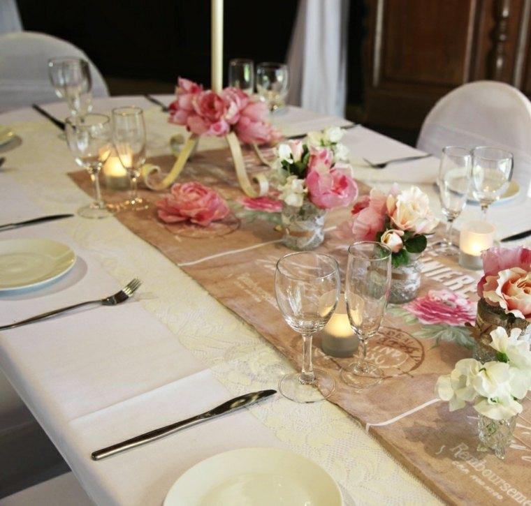 Decoracion bodas vintage 36 ejemplos a seguir for Decoracion de pared para novios
