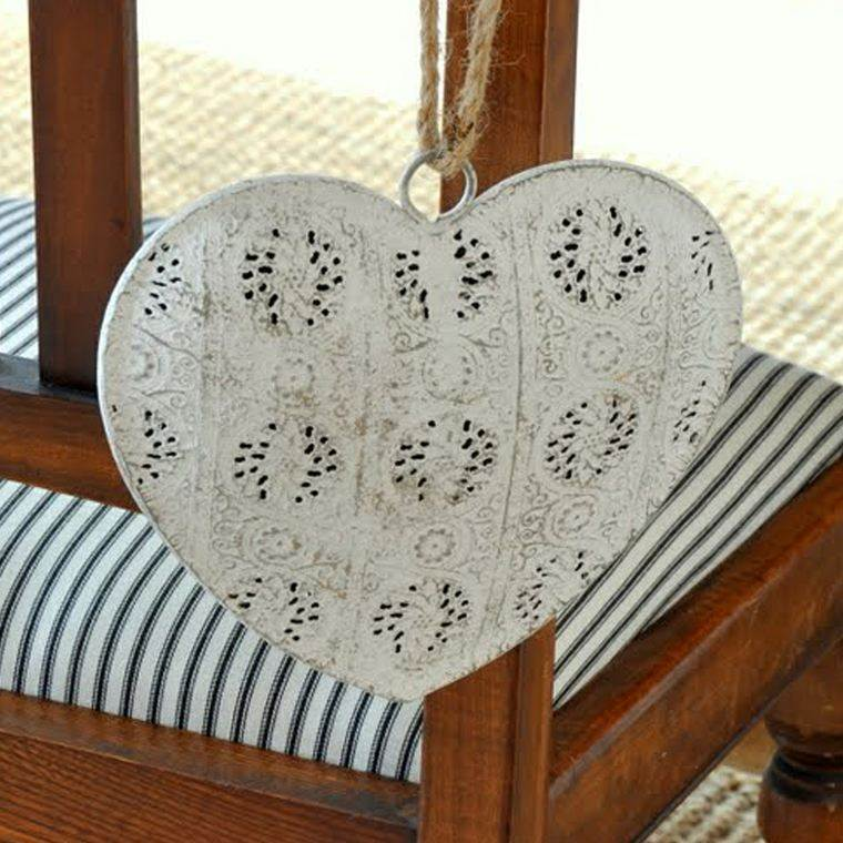 decoracion bodas vintage corazones sillas ideas