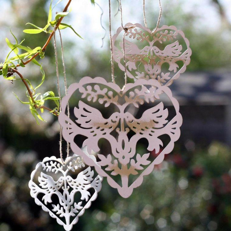 decoracion bodas vintage corazones originales ideas