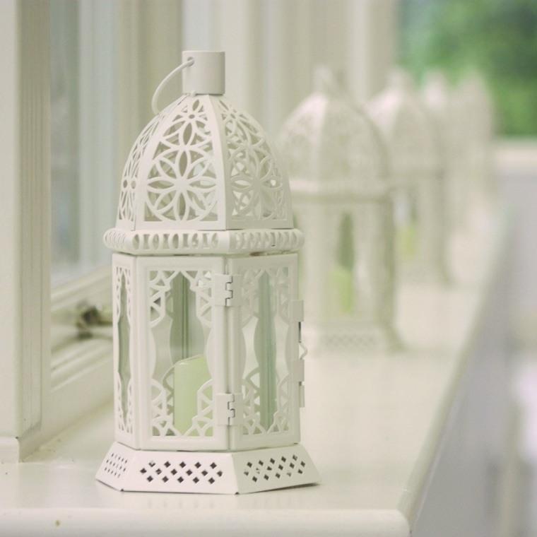 decoracion boda vintage candelabro blanca ideas