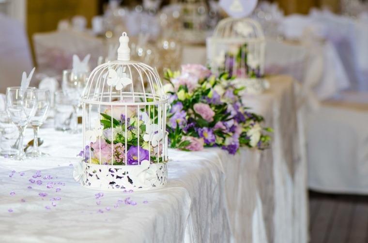 decoracion boda vintage jaula blanca ideas