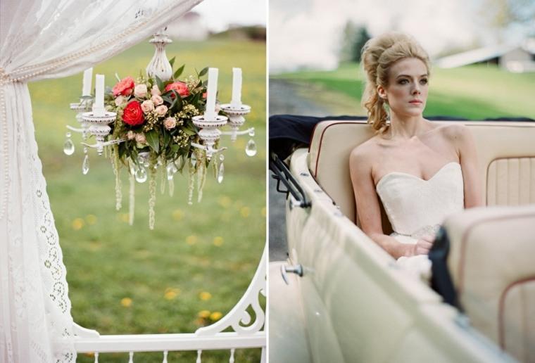 decoracion boda vintage opciones aire libre ideas