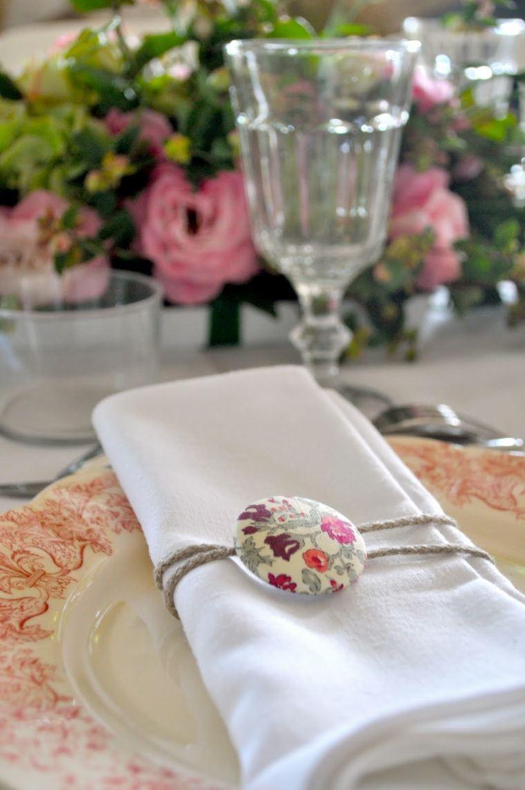 decoracion boda vintage opciones servilletas ideas