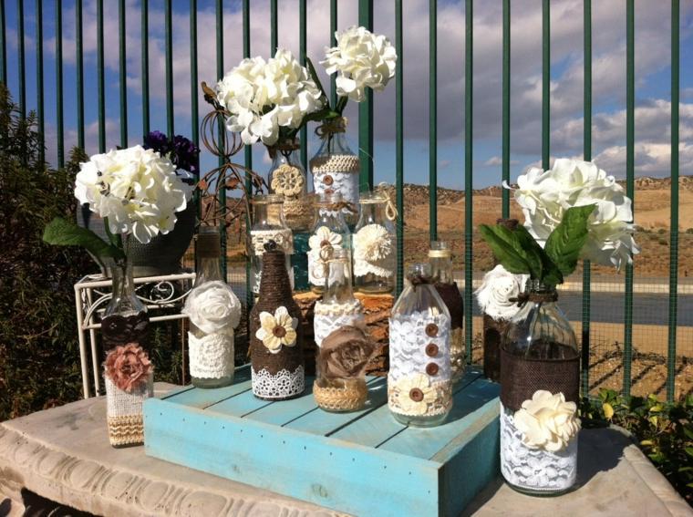 decoracion boda vintage rusticas combinacion estilos ideas