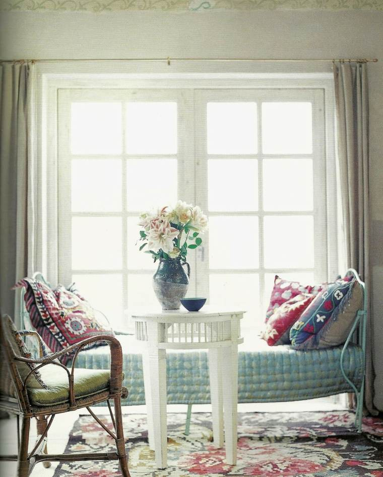 decoracion de interiores boho shabby chic