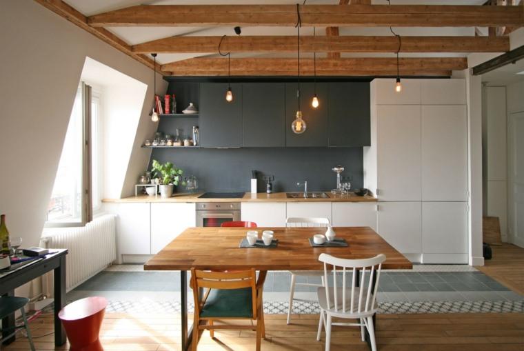 Decoracion comedor moderno en 36 dise os espectaculares for Diseno cocina comedor