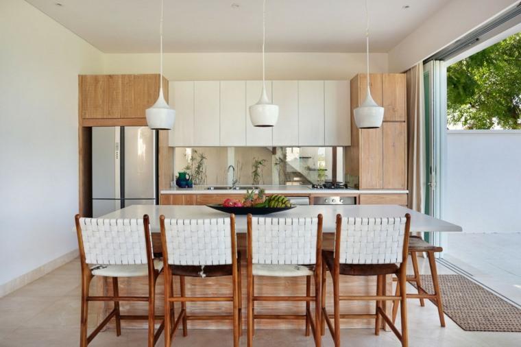 decoracion comedor moderno diseno cocina abierto ideas