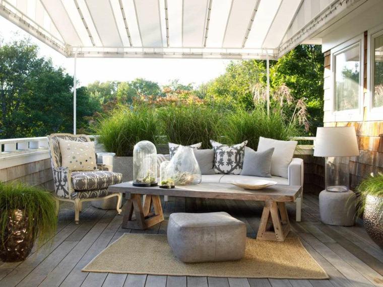 Decoracion de balcones ideas nuevas para esta primavera - Decoracion de balcones con plantas ...