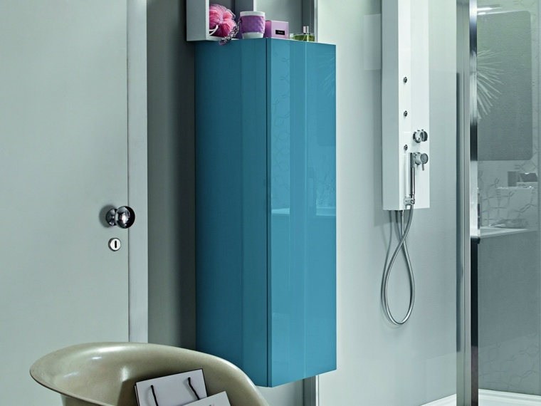 decoracion-de-banos-armario-azul