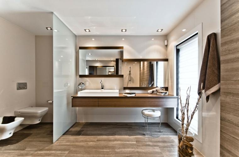decoracion de baños dos espejos preciosos ideas