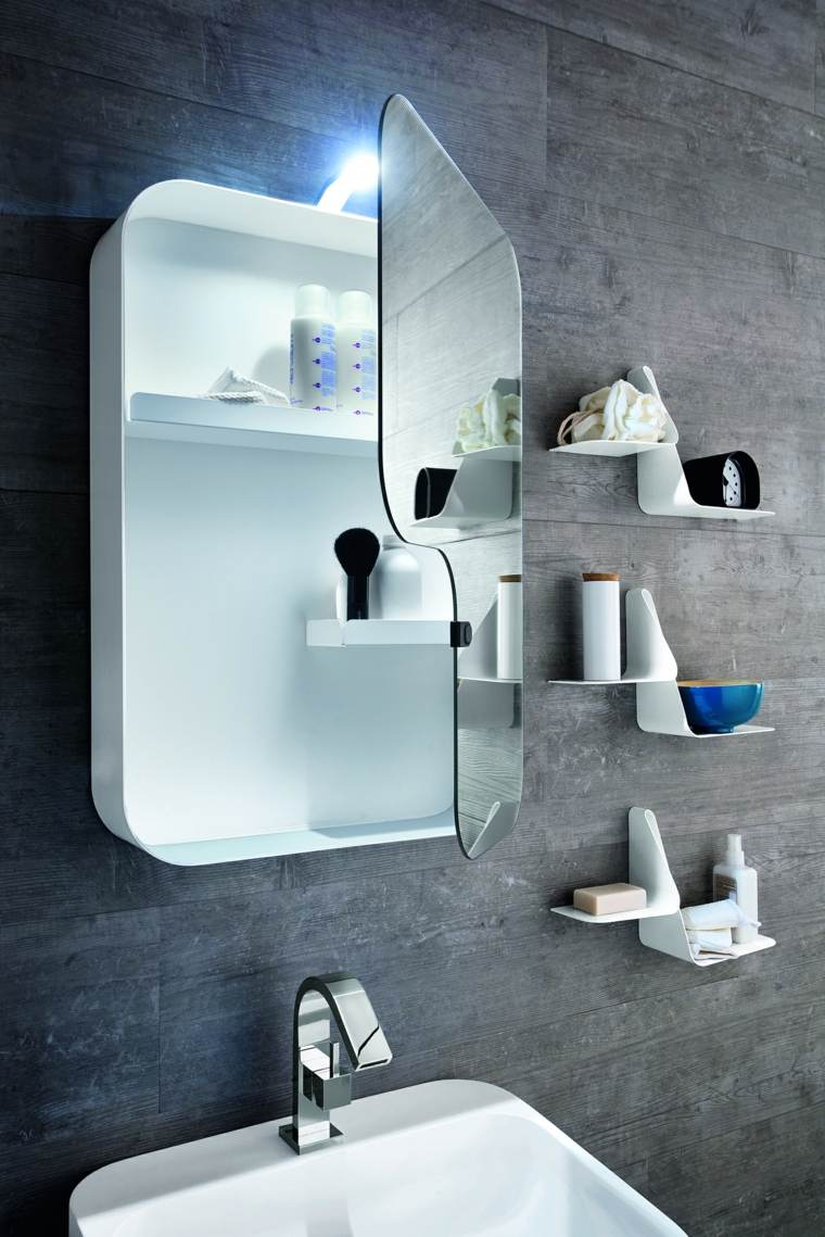 decoracion de baños espejo diseno ideas