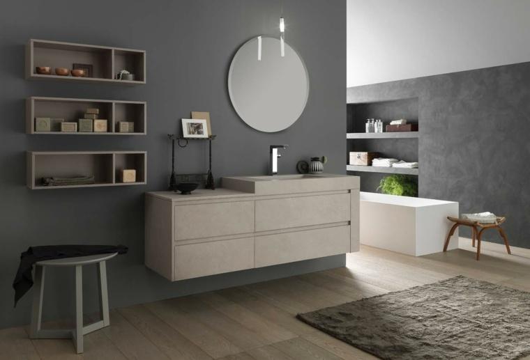 Estantes Para Baño Design:Ideas de espejos y armarios para el baño