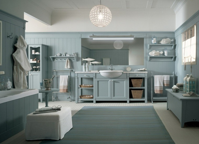Decoracion Baño Azul:Decoracion de baños 36 ideas excepcionales -