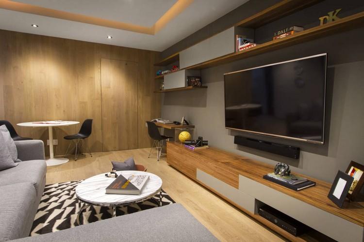 Decoraci n de paredes 26 opciones modernas y variables for Decoraciones para la pared de la sala