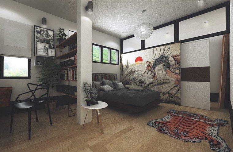decoracion dormitorios moderno estilo masculino ideas