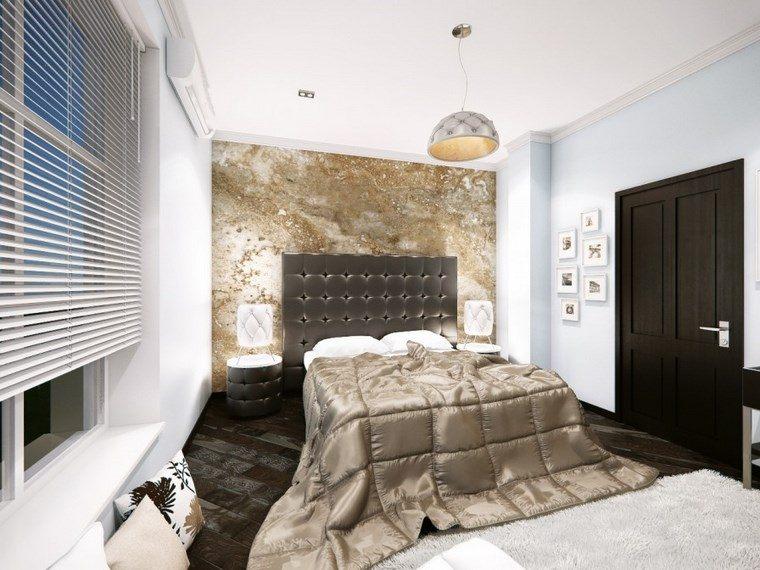 decoracion dormitorio moderno mesitas noche preciosas ideas