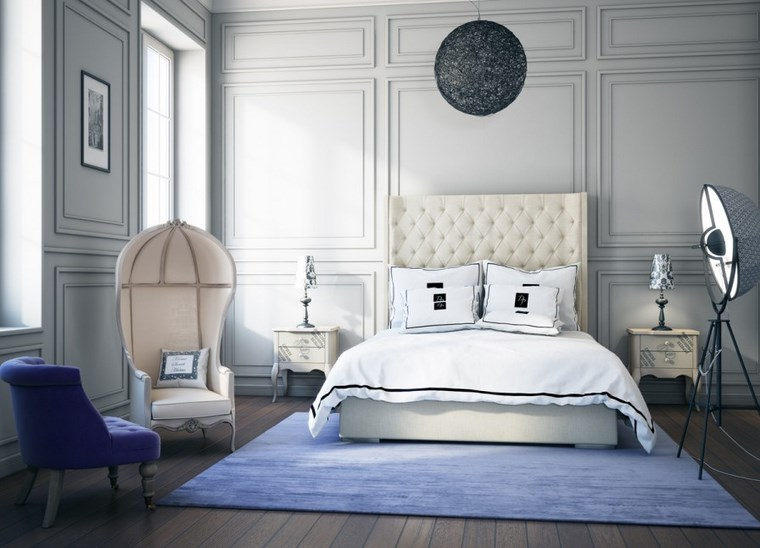 decoracion dormitorio moderno sillones preciosos ideas