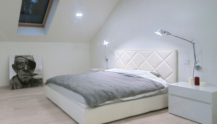 decoracion dormitorio modernos cama blanca bonita ideas