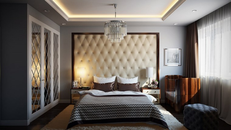 decoracion dormitorio modernos cama cuna opciones ideas