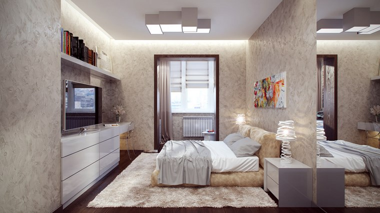decoracion dormitorio modernos colores claros ideas