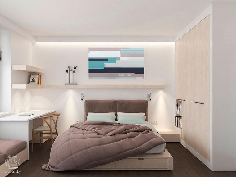 decoracion dormitorio modernos cuadro color ideas