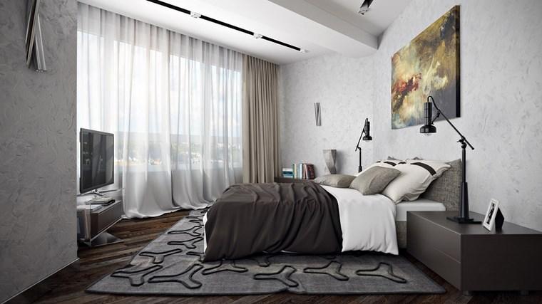 decoracion dormitorio modernos cuadro original ideas