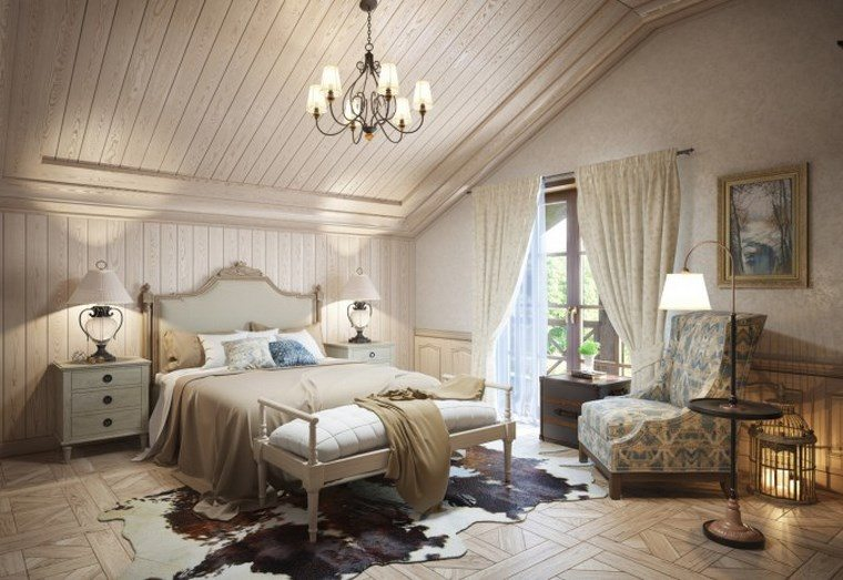 decoracion dormitorio modernos diseno estilo retro ideas