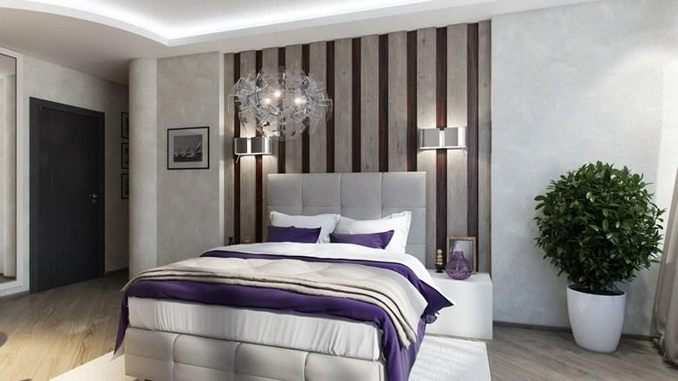 decoracion dormitorio modernos maceta planta ideas