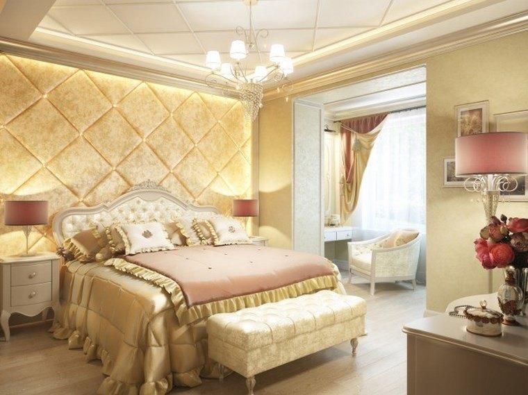 decoracion dormitorio modernos toques color rosa claro ideas