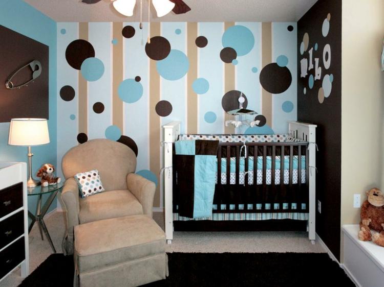 decoracion habitacion bebe soluciones varones oscuros