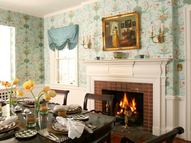 decoracion mesas de comedor constantes arreglos paredes