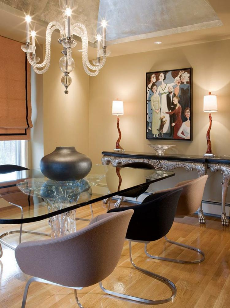 Decoracion mesas de comedor para espacios elegantes for Decoracion de mesas de comedor