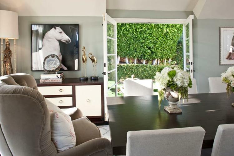 Decoracion mesas de comedor para espacios elegantes for Decoracion de cuadros para comedor