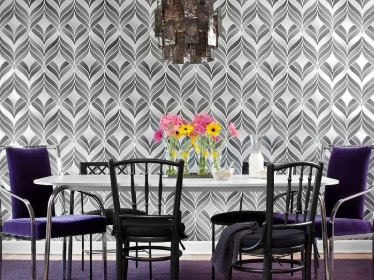 decoracion mesas de comedor platos suelos paredes