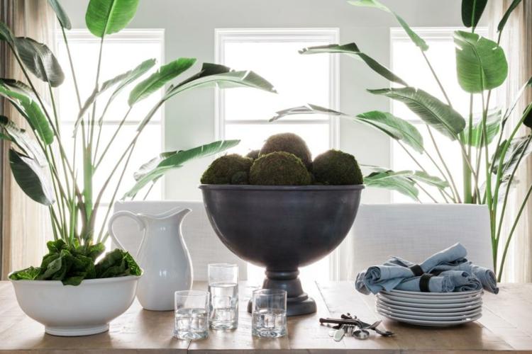 Decoracion mesas de comedor para espacios elegantes for Centros de mesa para comedor