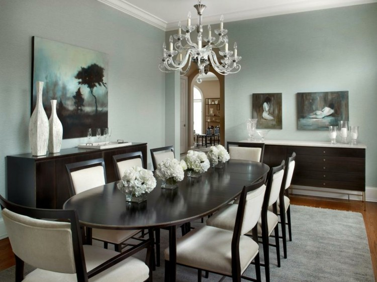 Decoracion mesas de comedor para espacios elegantes - Decoracion centros de mesa comedor ...